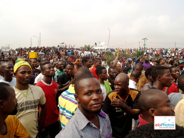 DAY 2 Photos of MASS PROTEST AGAINST THE REMOVAL OF FUEL SUBSIDY (2/6)