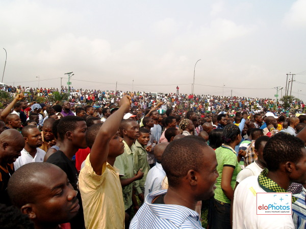DAY 2 Photos of MASS PROTEST AGAINST THE REMOVAL OF FUEL SUBSIDY (1/6)
