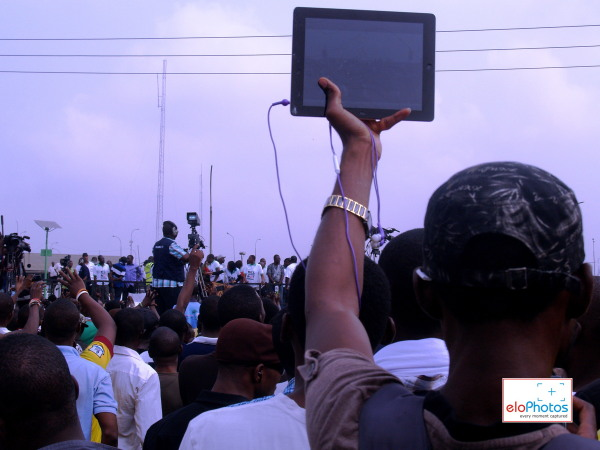 DAY 2 Photos of MASS PROTEST AGAINST THE REMOVAL OF FUEL SUBSIDY (5/6)