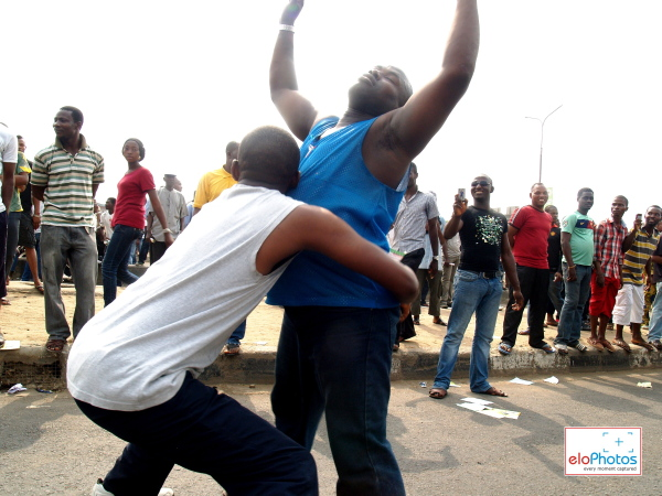 Photos of MASS PROTEST AGAINST THE REMOVAL OF FUEL SUBSIDY: DAY 1 (6/6)