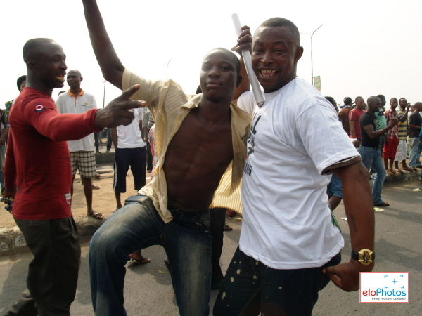 Photos of MASS PROTEST AGAINST THE REMOVAL OF FUEL SUBSIDY: DAY 1 (5/6)