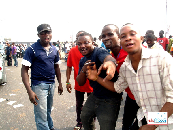 Photos of MASS PROTEST AGAINST THE REMOVAL OF FUEL SUBSIDY: DAY 1 (2/6)