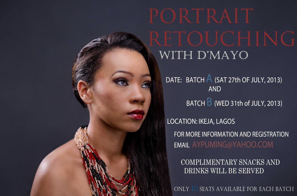 PORTRAIT RETOUCHING WITH D'MAYOR